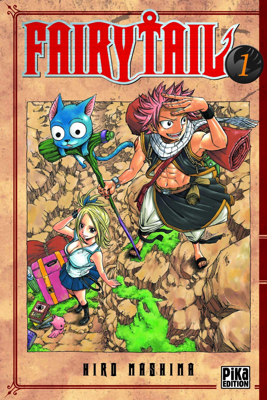 Fairy Tail Tome 1 Hiro Mashima 9782845999145 Amazon Com
