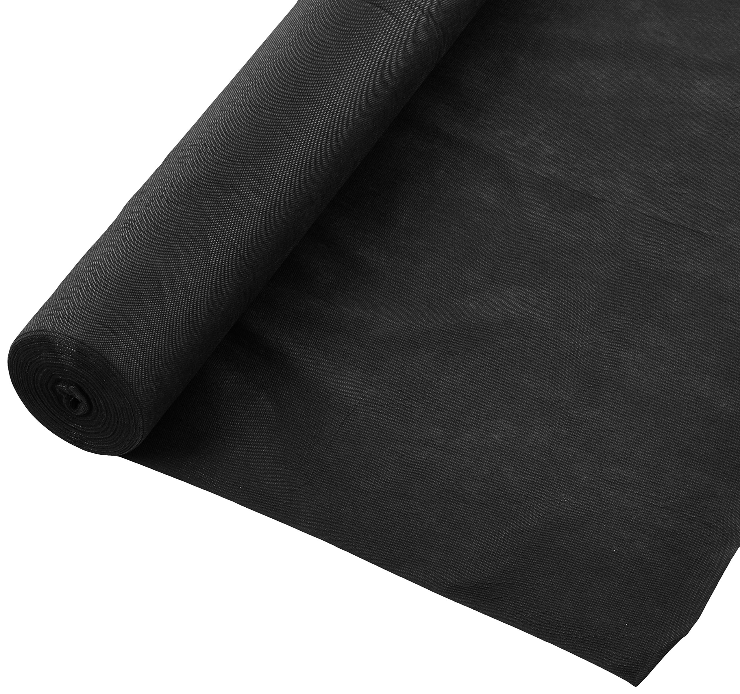 American Home and Gardneing PPB150 AHG Premium 15yr 3'x150' Landscape/Weed Control Fabric, Black