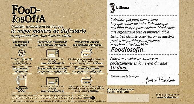 La Sirena Tajine De Pavo, Quinoa Y Mijo 410 g: Amazon.es ...