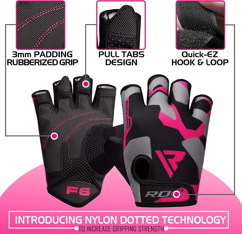 MEHRWEG RDX Fitness Handschuhe Trainingshandschuhe Handgelenkschutz Gewichtheben krafttraining Sporthandschuhe Bodybuilding Workout Gym Gloves