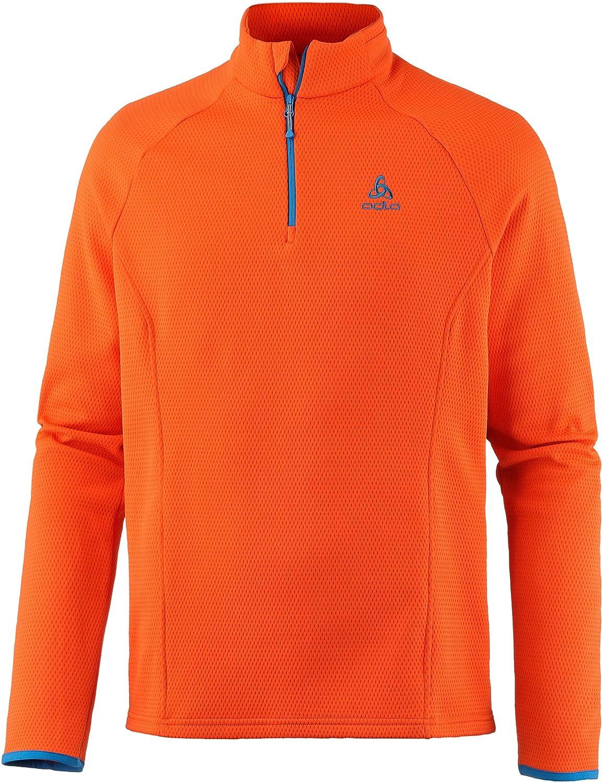 Odlo Herren Midlayer 1/2 Zip Inyo Pullover & Sweatshirts