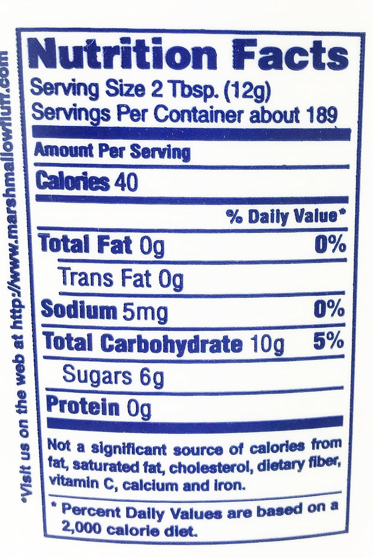 Amazon.com : Marshmallow Fluff Spread 5 Pound Tub : Grocery ...