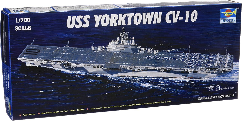 Trumpeter 1//700 05729 USS Yorktown CV-10 Static Warship model kit