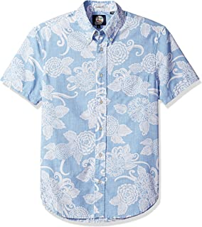 f00f099f Reyn Spooner Men's Status Oceanic Weekend Wash Tailored Fit Hawaiian ...