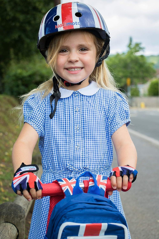 BMX - Bicicleta Carretera Monta/ña MTB ni/ñas y ni/ños KIDDIMOTO Guantes de Ciclismo sin Dedos para Infantil