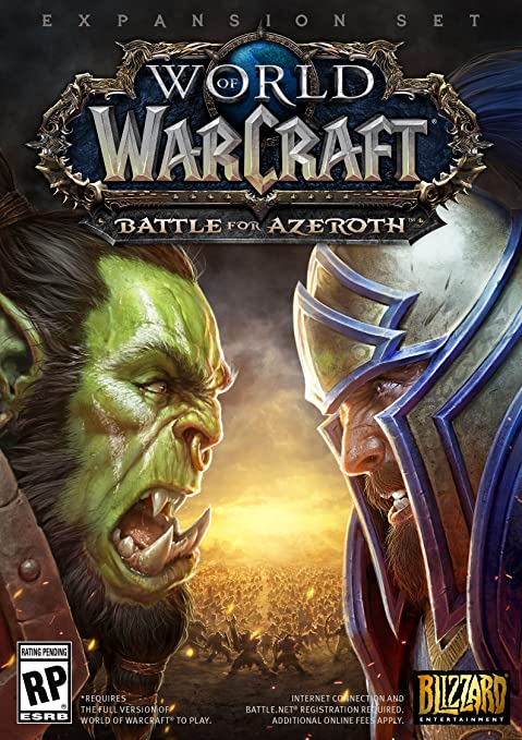 Amazon Com World Of Warcraft Battle For Azeroth Standard