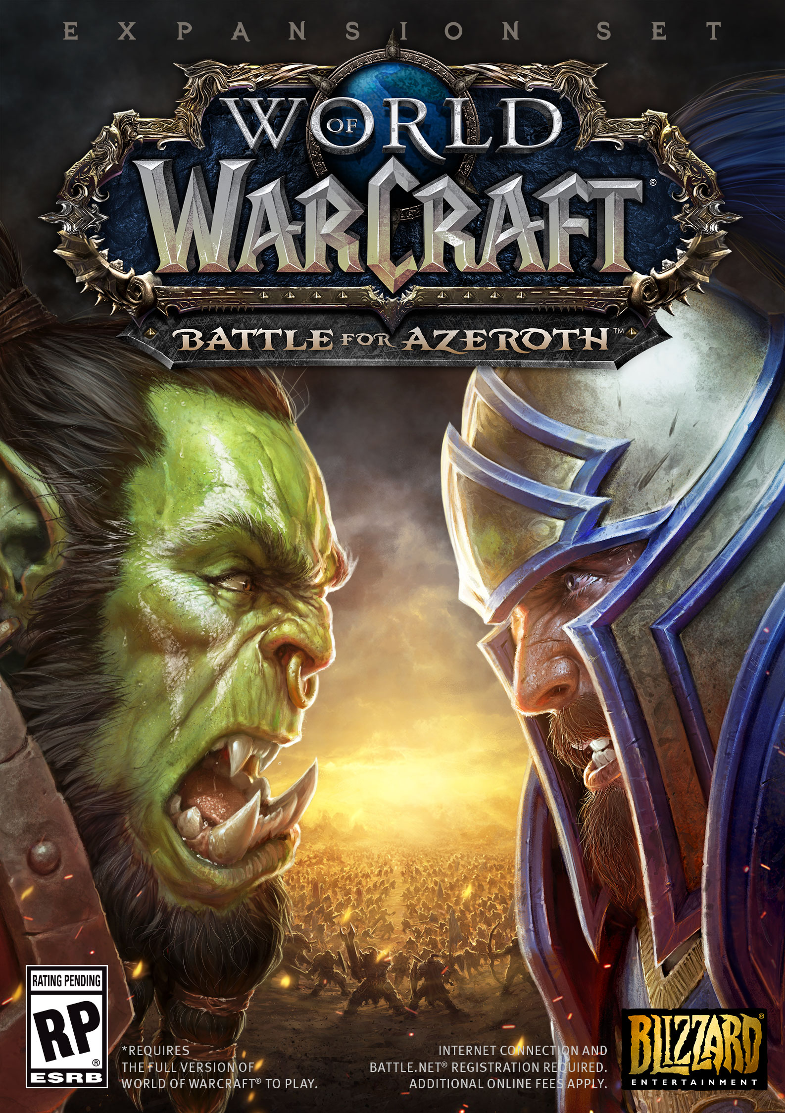 World of Warcraft: Battle for Azeroth - Digital Deluxe [Online Game Code] by Blizzard Entertainment