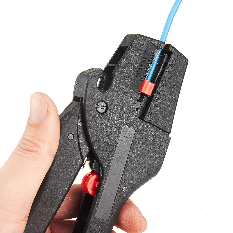 Pinza spelafili automatica autoregolante con pinza per tagliare i fili Babimax