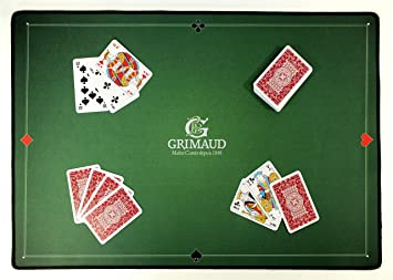 tapis de carte belote Amazon.com: Grimaud 130009894, 130009894 Card Mat 40 x 60 cm