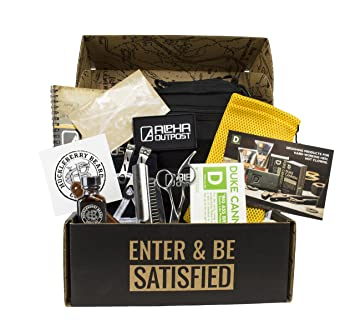 Amazon.com: Alpha Outpost La Dopp kit de los hombres Higiene ...