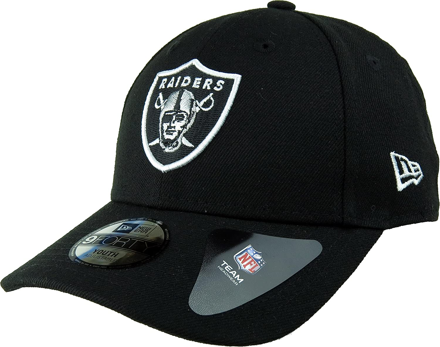 NFL LEAGUE Oakland Raiders schwarz New Era 9Forty Cap