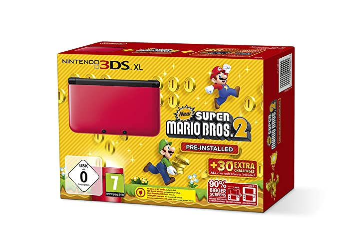 Nintendo 3DS XL + New Super Mario Bros. 2 videoconsola ...
