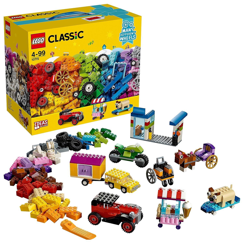 LEGO Classic 10715 - Kreativ-Bauset Fahrzeuge, Spielzeug No Name LEGO®