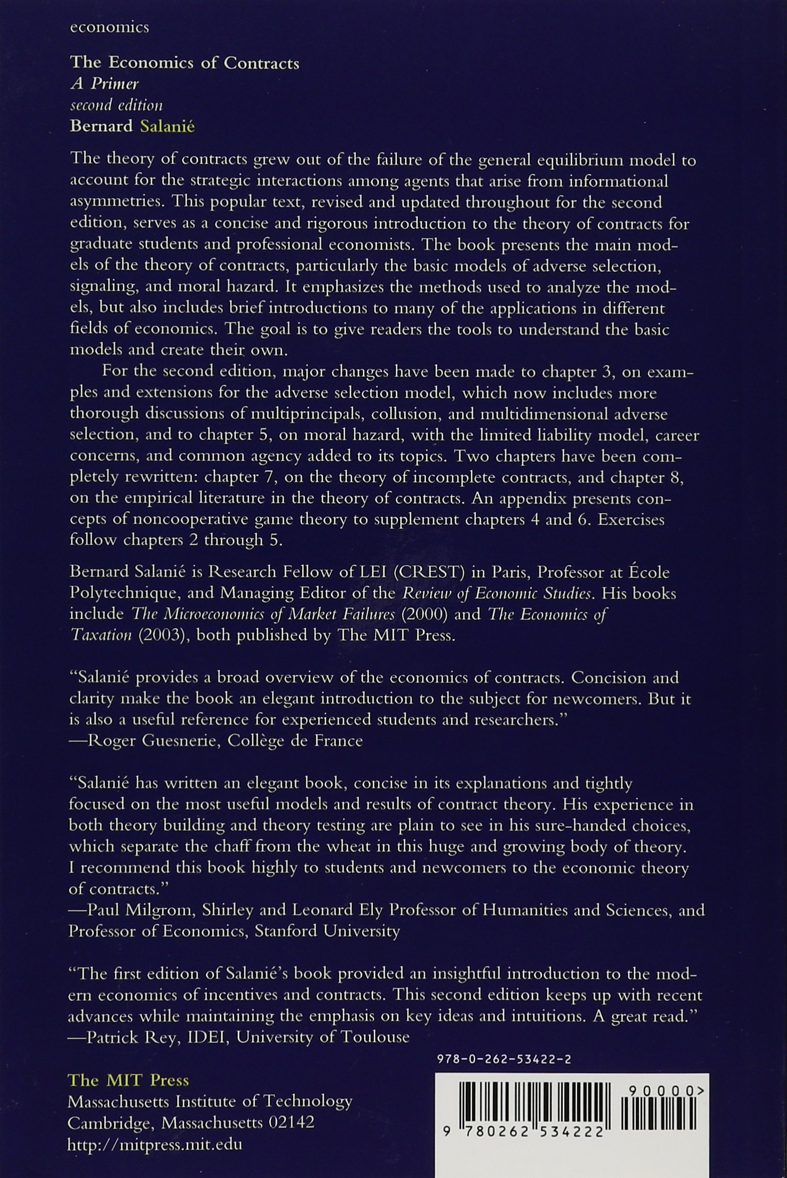 Download The Economics of Contracts: A Primer, 2nd Edition (MIT Pres…