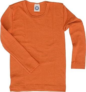 Cosilana Sudadera Camisa – para niños – manga larga de lana ...