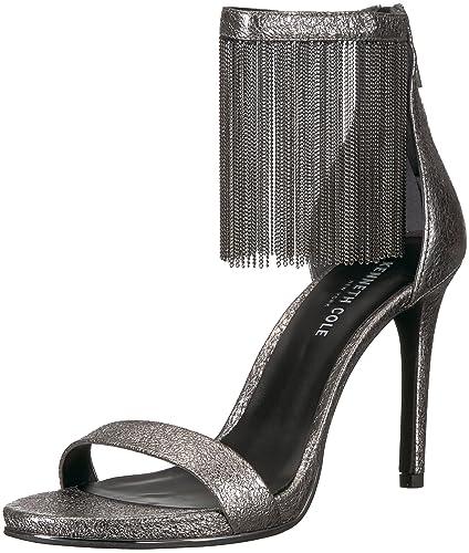 7797f66a62d Amazon.com  Kenneth Cole New York Women s Bettina Fringe Metallic ...