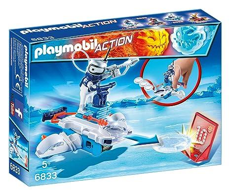 playmobil 6833 ice robot con space jet lanciadischi amazon it