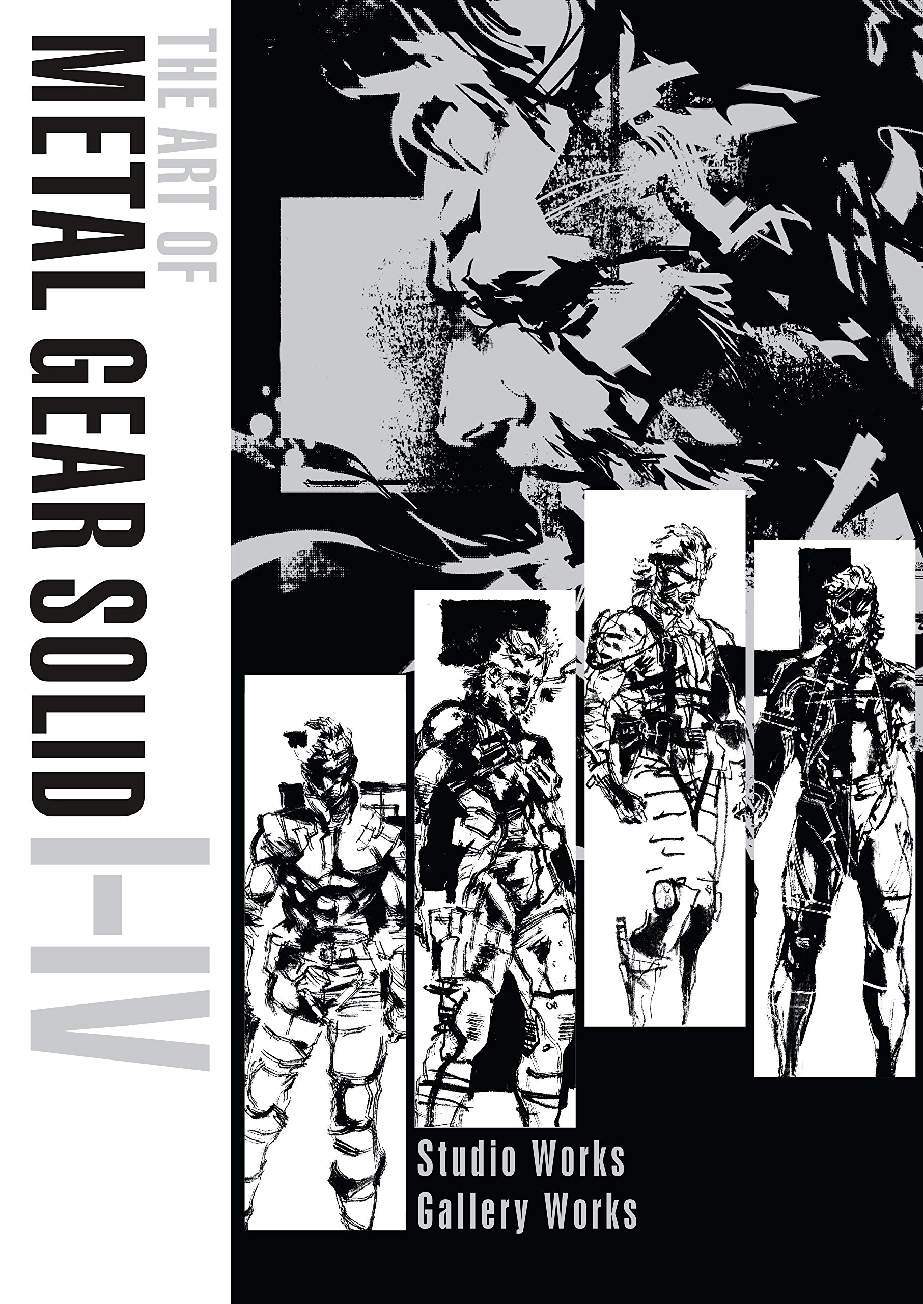 amazon com the art of metal gear solid i iv 9781506705811 konami