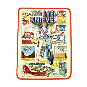 The Coop Evel Knievel Plush Throw - Not Machine Specific;