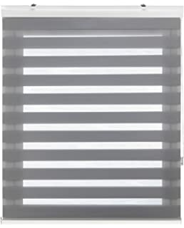 Blindecor Vela - Estor enrollable Doble Tejido, Noche y Día, 140 x 180 cm