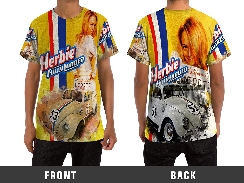 Amazon Herbie The Love Bug Fullyloaded Custom Men T Shirt