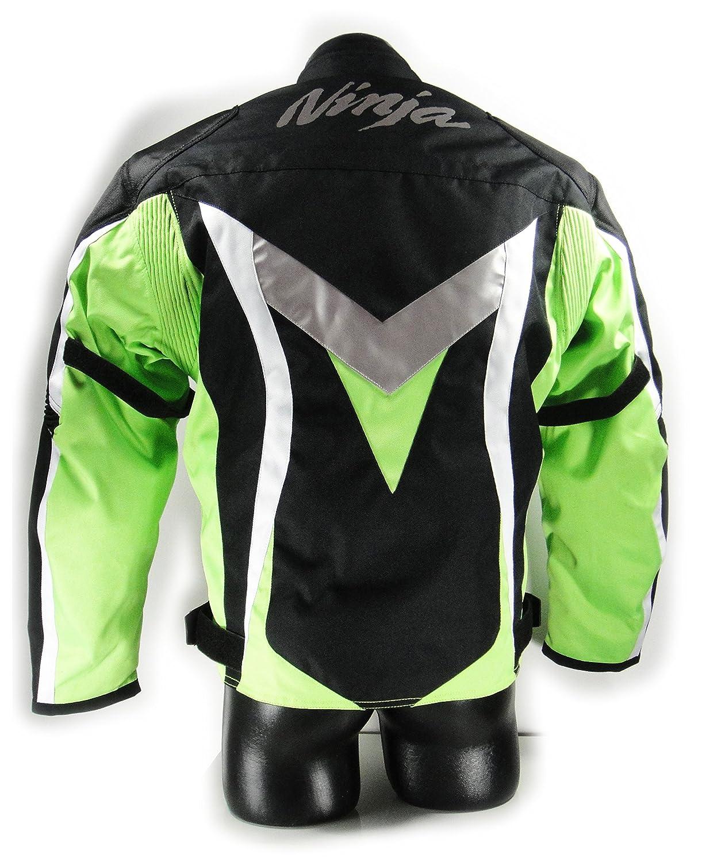 Kawasaki Ninja textil Chaqueta.Moto Chaqueta. NUEVO. Talla ...