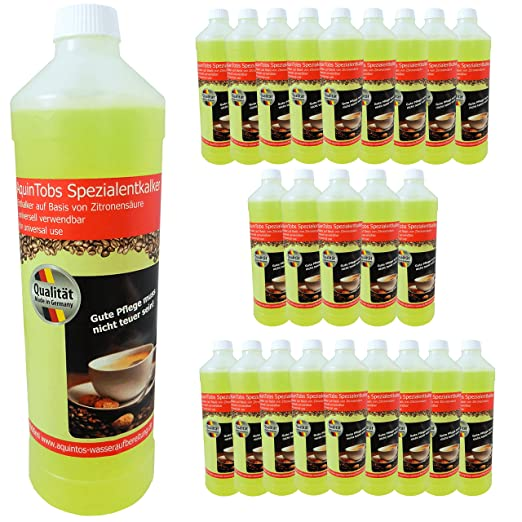 24 Pack GS-01 Tobs especial descalers - 1000 ml - aq97002 - para ...