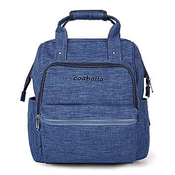 Amazon.com: Mochila de pañales, bolsa de pañales de gran ...
