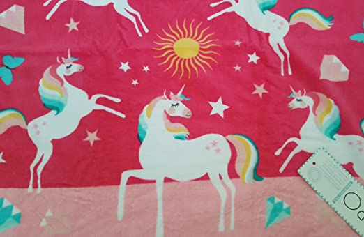 Color Rosa Juego de Toallas de Playa con dise/ño de Flores Boca Clips