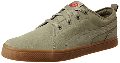 Puma Unisex S Street Vulc Leather Sneakers  Buy Online at Low Prices in  India - Amazon.in 82eecc0ff