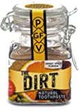 The Dirt - All Natural Tooth Powder For Organic Teeth Whitening (6 Month Jar 50g)