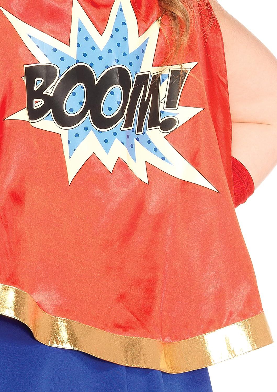 Leg Avenue 85432X - Comic Comic Comic Book Girl Damen kostüm, Größe 1X-2X ( EUR 44-46) 6870d0