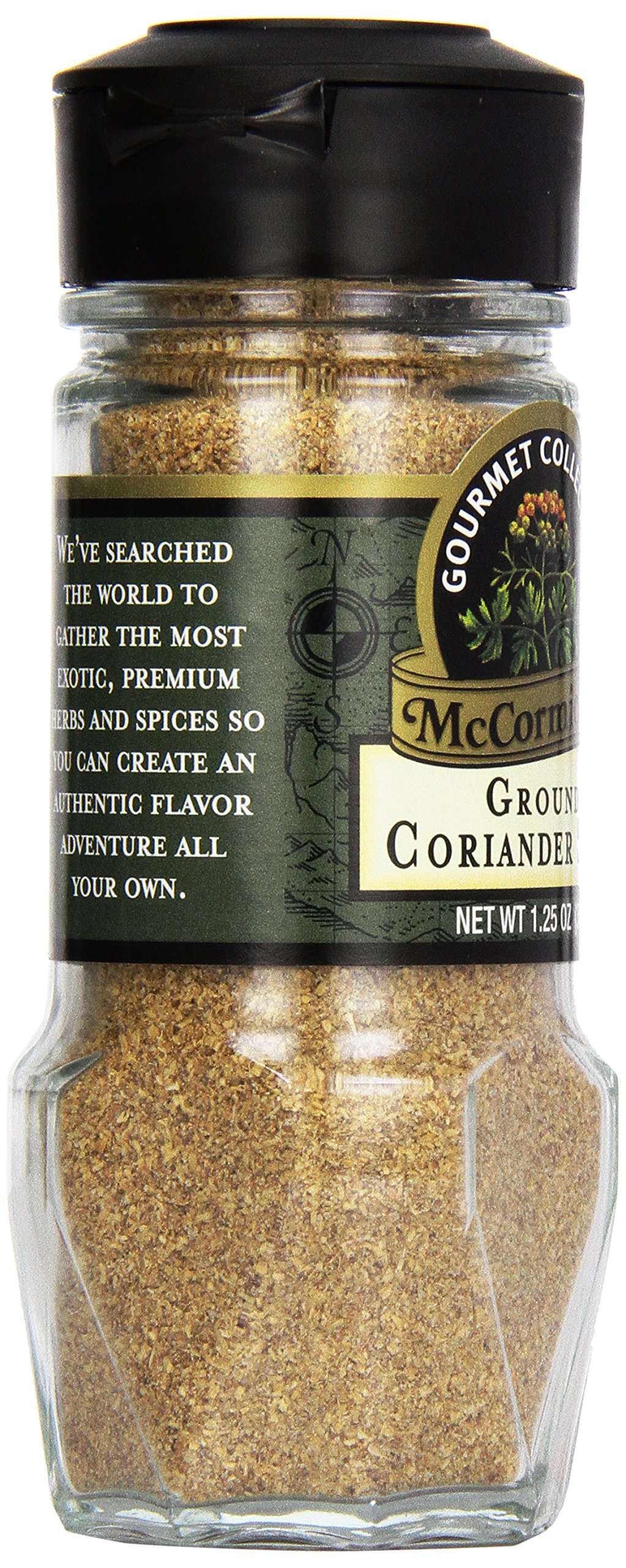 McCormick Gourmet Collection Ground Coriander Seed, 1.25 oz