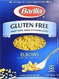 Barilla Gluten Free Elbows 12 Oz (Pack of 3)