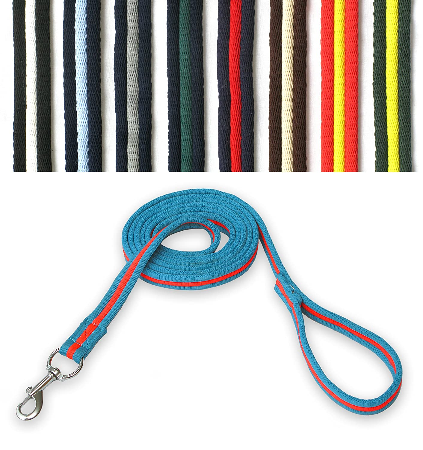 GEE TAC horse lead rope HEAD COLLAR DOG LEAD 2.4 MT LUNGE LINE extra long, please email us your colour choice …