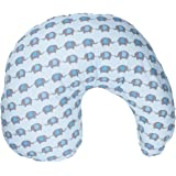 Dr. Brown's Gia Pillow Cover, Blue Elephant