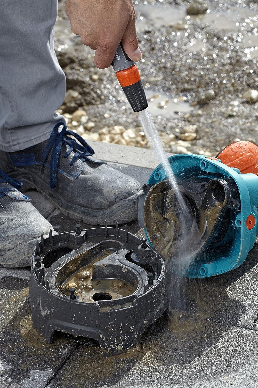Automatic-Funktion robustes Geh/äuse Universalanschluss 1799-20 GARDENA Comfort Schmutzwasserpumpe 13000 aquasensor: Tauchpumpe mit F/ördermenge 13000 l//h Motor ist leise und wartungsfrei