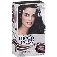 Clairol Nice'n Easy Permanent Hair Color, 2 Black, 1 Count
