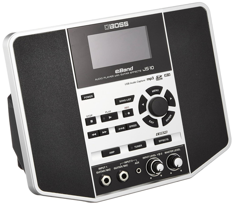 BOSS AUDIO PLAYER with GUITAR EFFECTS eBand JS-10 B008B4LXWQ