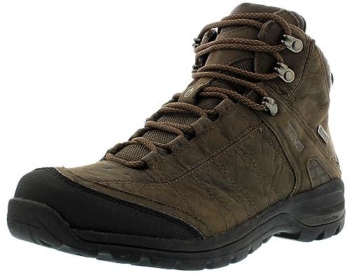 Teva Mens Kimtah Mid eVent Leather M's walking and hiking boots Brown Braun  (turkish coffee