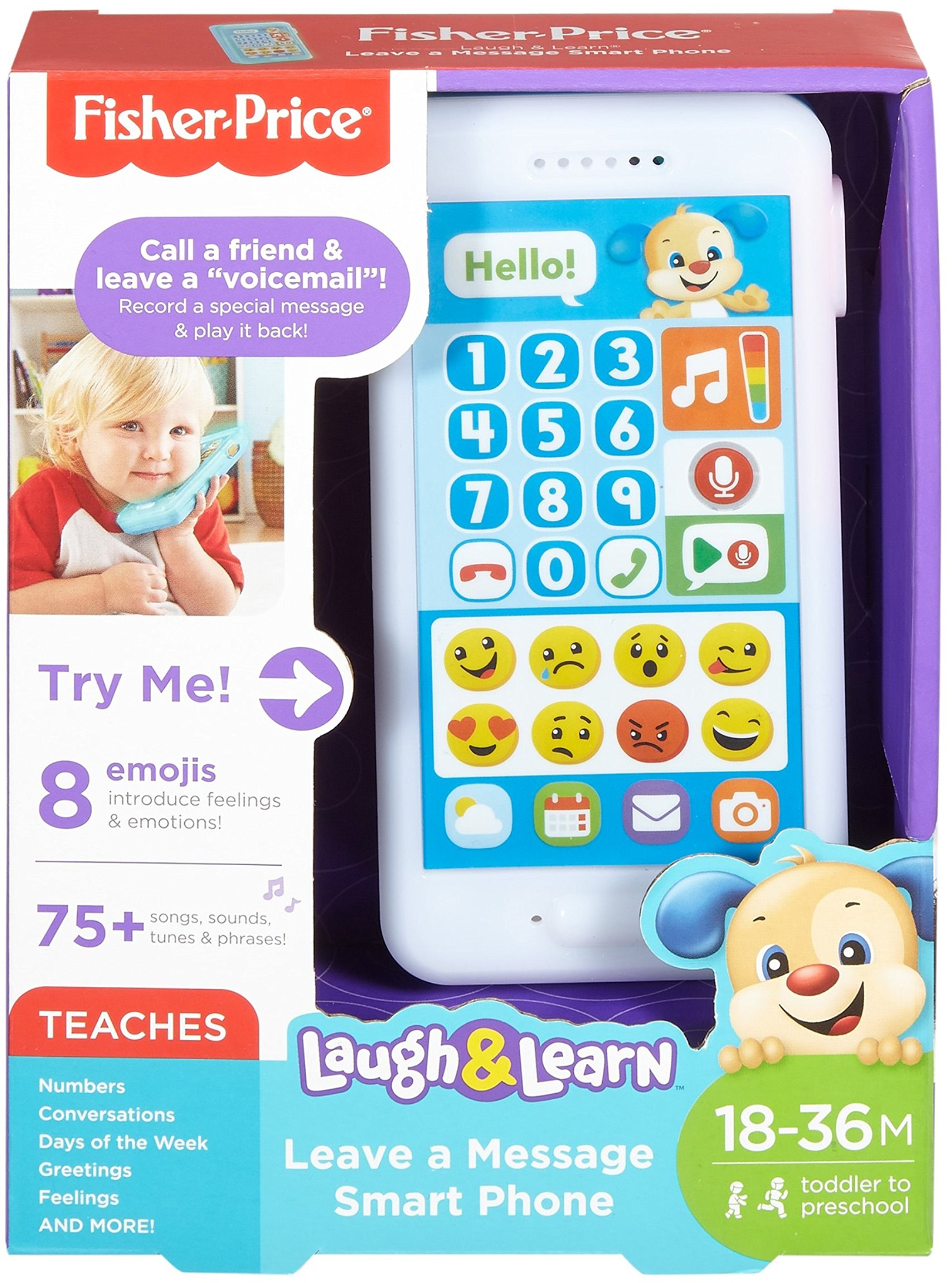 Fisher-Price Laugh & Learn Leave A Message Smart Phone, Puppy by Fisher-Price (Image #5)