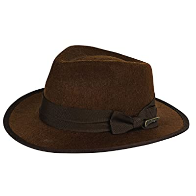 Rubie's Costume Child's Indiana Jones Fedora Hat, Brown, One Size: Toys & Games
