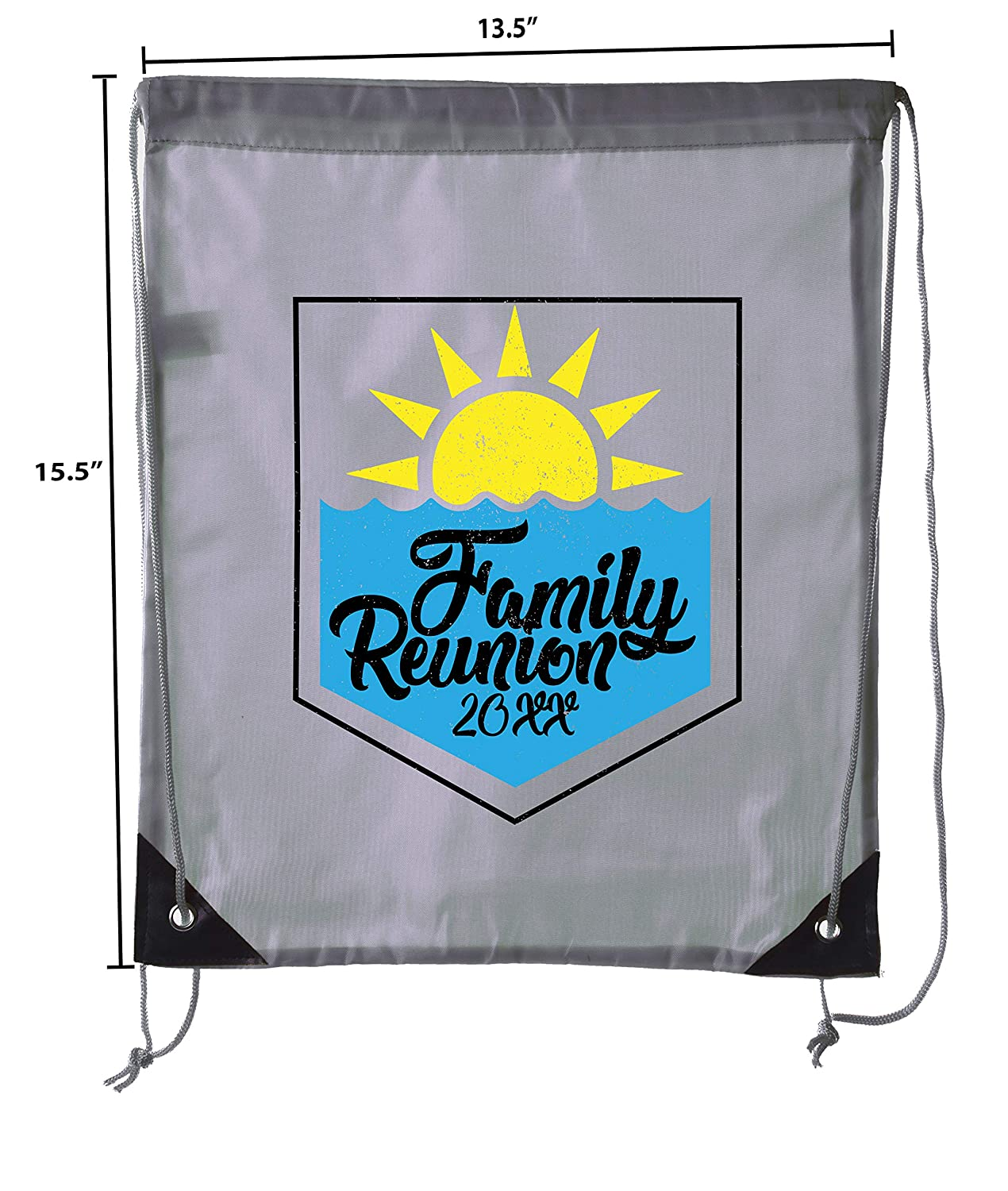 Sun and Water Family Reunion with Date Family Reunion Party Favor Bags