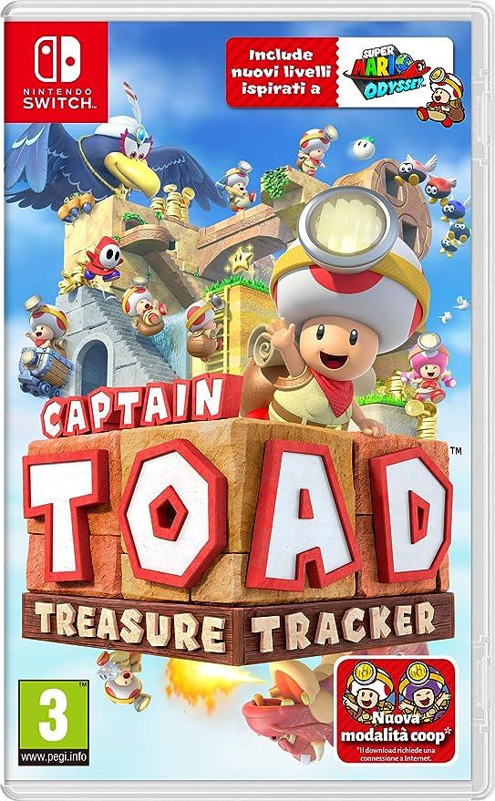 Captain Toad: Treasure Tracker - Nintendo Switch [Importación italiana]: Amazon.es: Videojuegos