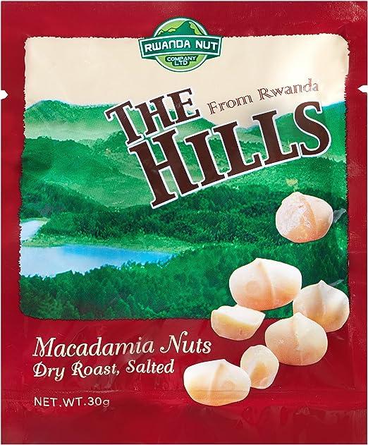 ザ・ヒルズ マカデミアナッツ ソルト風味 30g 5袋セット(The Hills from Rwanda) / ナッツ ルワンダ アフリカ マカダミア