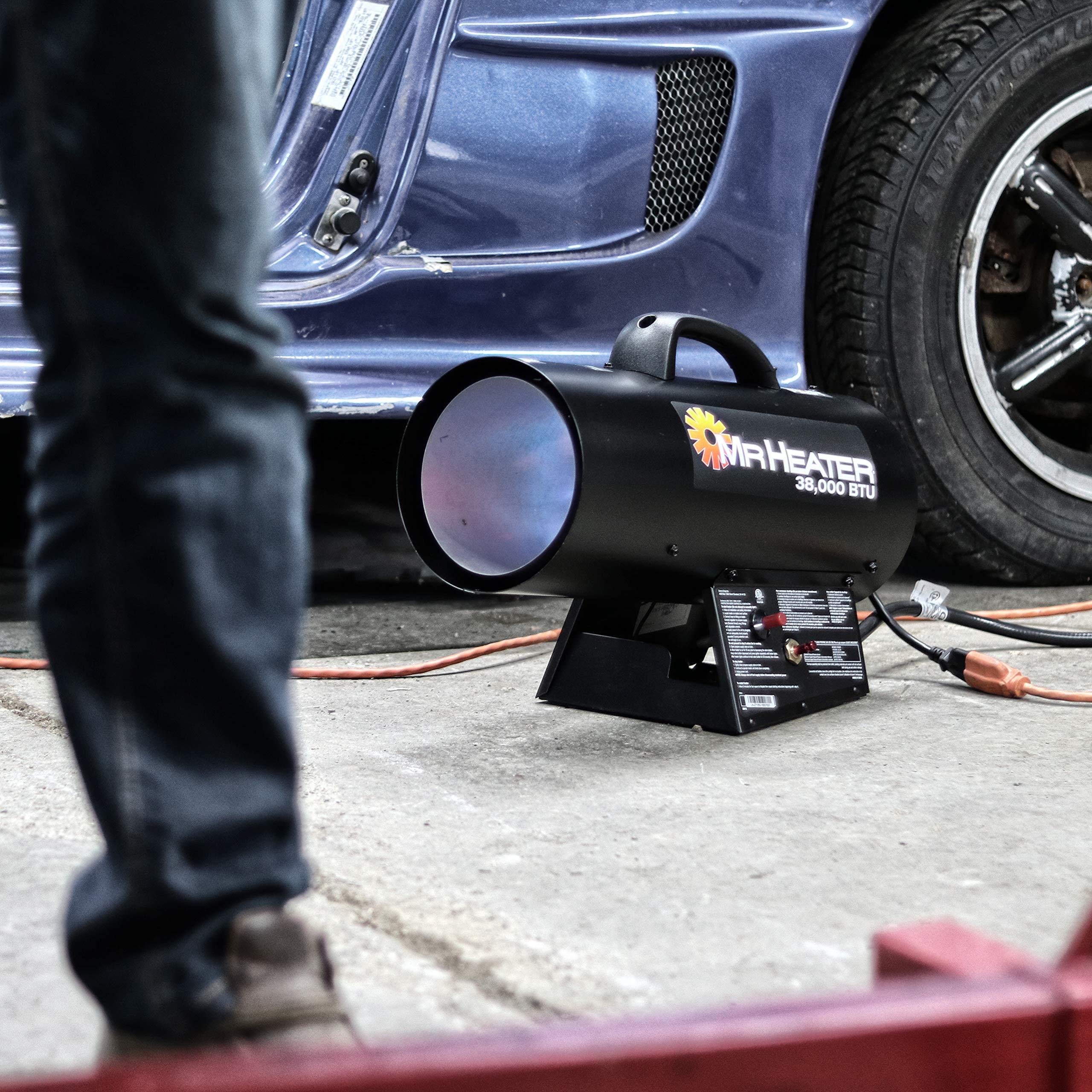 Mr. Heater 38,000 BTU Forced Air Propane Heater F271350 by Mr. Heater