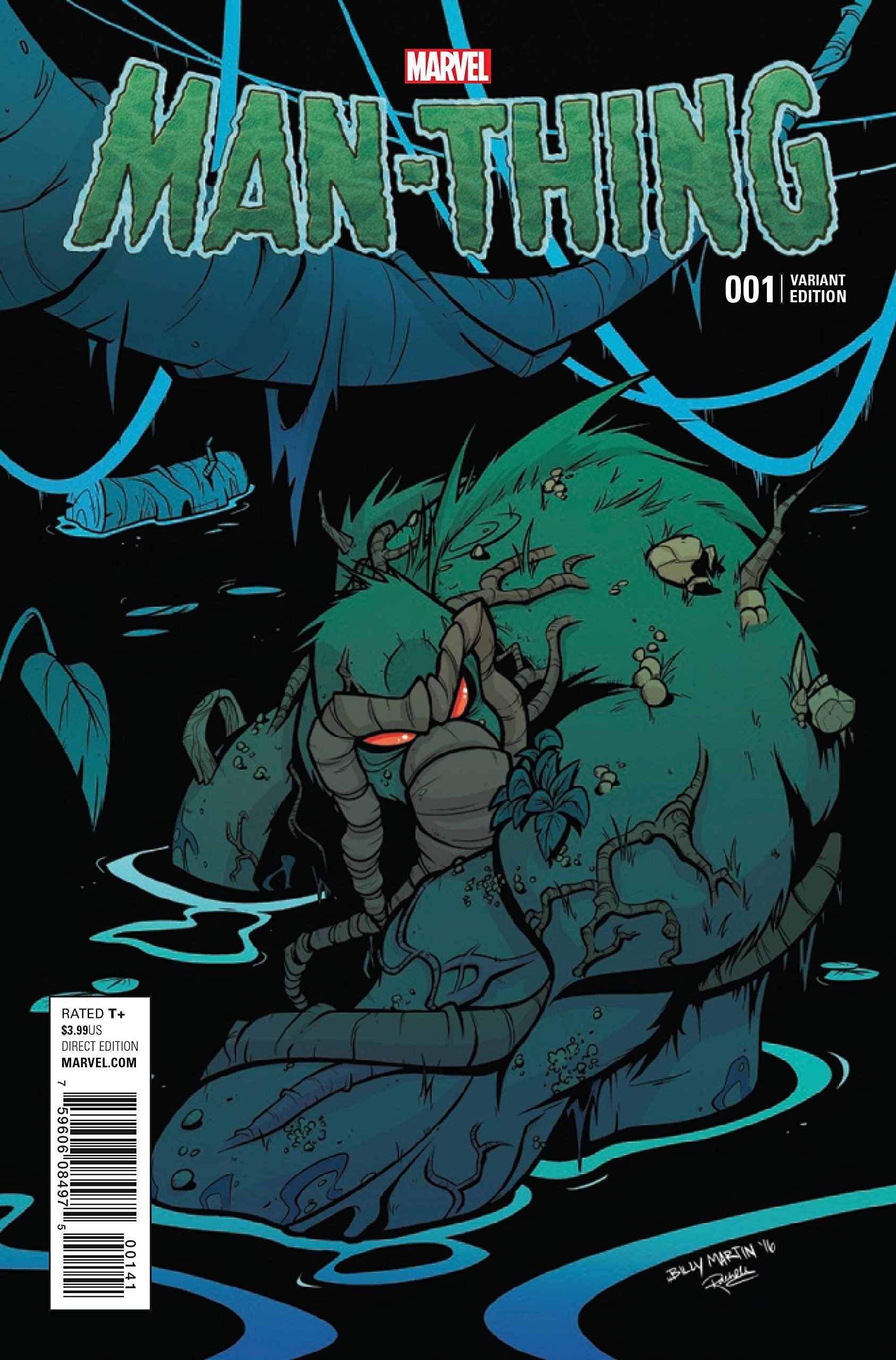 Download MAN-THING #1 MARTIN VAR PDF