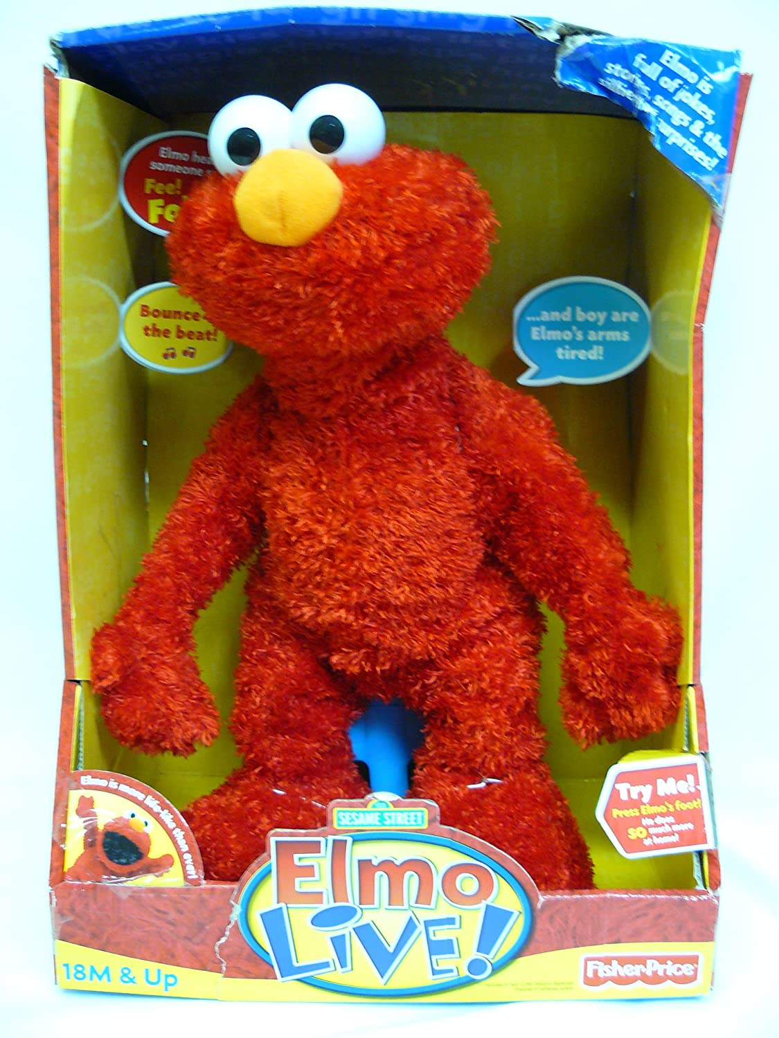 Fisher Price Elmo Live Top Christmas Toys Of 2017