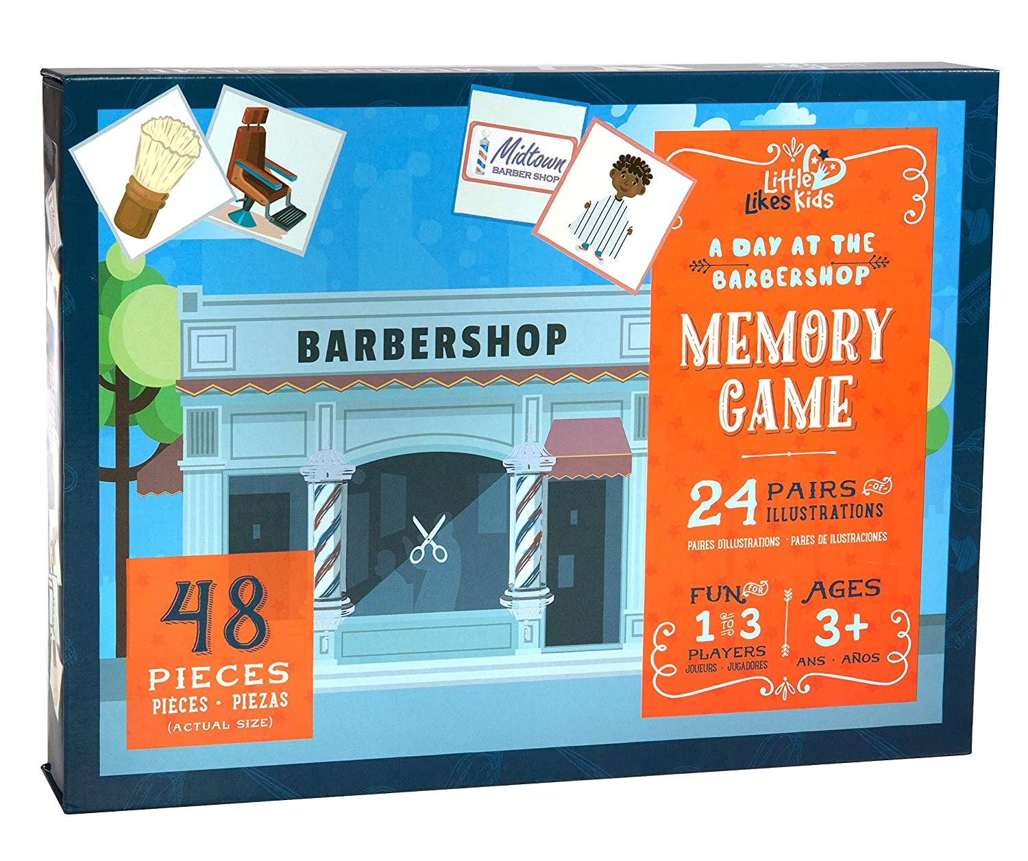 "Image result for ""Day at the Barbershop"" Memory Game"