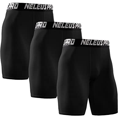 Neleus Men s Performance Compression Shorts 3 Pack at Amazon Men s ... 0f3b82aff